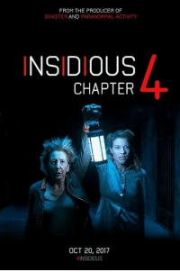 Memes, Sinister, and 🤖: FROM THE PRODUCER OF  SINISTER  AND PARANORMAL ACTIVITY  INSIDIOUS  CHAPTER  OCT 20, 2017  NSIDIOUS Who's ready for #Insidious4?