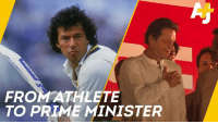 Imran Khan is getting sworn in today as Prime Minister of Pakistan.: FROMATHLETE  TO PRIME MINISTER Imran Khan is getting sworn in today as Prime Minister of Pakistan.