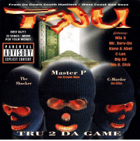 Bad, Best Buy, and Hoes: Fronm Da DOwn South HustlersWest coast Bad Boyz  BEST BUY!!  22 SONGS-MORE  FOR YOUR MONEY  eaturing  Mia X  Mr. Serv-on  Kane & Abel  C-LOC  Big Ed  PARENTAL  EXPLICIT CONTENT  Master P  Ice Cream Man  The  Shocker  C-Murder  Da Killa  TRLJ 2 AGAME 21 years ago today NoLimitRecords TRU released 'TRU 2 Da Game' featuring the tracks 'Freak Hoes', 'I Always Feel Like', and 'No Limit Soldiers'. Comment your favorite song off this album below! 👇🔥💯 @MasterP HipHop History WSHH