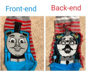 Be Like, Back, and All: Front-end Back-end All of my projects be like: