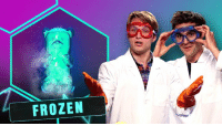 Dank, Frozen, and Science: FROZEN SCIENCE IS AWESOME! Check out our new show SMOSH LAB!