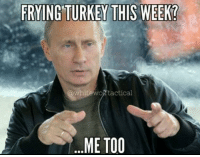 Allahu Akbar, Assassination, and Turkey: FRYING TURKEY THIS WEEK?  @whitewoA tactical  ME TOO A Turkish police special forces agent yelling allahu akbar just assassinated the Russian Ambassador to Turkey.
