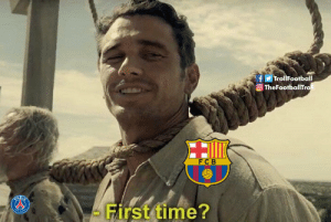 Barcelona, Goals, and Memes: fTrollFootball  O TheFootballTro  FCB  - First time? Ajax bottles a 3 goals lead in Champions league  Barcelona: https://t.co/rvWhUkOw85