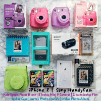 Friends, Instagram, and Iphone: FU FILM  instax  mini 9  nstax  i9  SONY  HDR-CX240  MANET  instax  ini  xoxo  10  iPhone Sony HandyCam  Kate Spade iPhone 8 case 2 Instax Mini 9 Cameras 2 packs instax Film  instax Case instax Photo frames Tinstax Photo Album WORLDWIDE GIFTS FOR YOU AND YOUR FRIENDS! 🐥🐥🐥 I've teamed up with some of our favorite Bloggers and Youtubers to give one lucky follower a brand new iPhone 8, Kate Spade iPhone 8 Case, 2 Instax Mini 9 Cameras, 2 packs of instax Film, a instax Case, instax Photo frames, Instax Photo Album, and a Sony HandyCam! 🎉 To Participate✨ 1⃣FOLLOW ME 2⃣LIKE this picture 3⃣GO TO @dotzsoh and repeat the steps 4⃣REPEAT the same steps on every account until you come back to me (or the account you started with) and leave a COMMENT when you're done. 🎉 5⃣If you want a DOUBLE chance at winning, TAG some real friends (friends who would like this giveaway) in the comments below, and LIKE our last 3 pics! 💖 This will run from Nov 27th to Nov 29th at 11 PM EST. The winner will be selected at random, and announced Nov 30th here or in our stories. We will verify that everyone who entered followed everyone correctly. We pay for shipping. Winner is responsible for customs fees should there country have them. OPEN WORLDWIDE! 🌎 This is in no way sponsored, administered, or associated with Instagram Inc, or any of the brands. By entering, entrants confirm that they are 13+ years of age, release Instagram and all brands of all responsibility, and agree to Instagram's terms of use. VOID where prohibited by law.