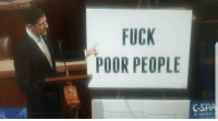"""Fuck, Http, and Invest: FUCK  POOR PEOPLE  A typical household of 4  making $59 000) will save  C-SPA  C-span. <p>New template, has a lot of potential. Invest quickly!!! via /r/MemeEconomy <a href=""""http://ift.tt/2hG7Qlj"""">http://ift.tt/2hG7Qlj</a></p>"""