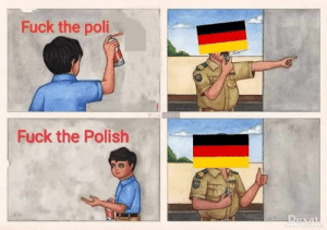 Fuck, Quite, and Him: Fuck the poli  Fuck the Polish He is holding him self on some quite default!