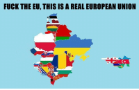 Memes, European Union, and 🤖: FUCK THEEU, THIS IS A REAL EUROPEAN UNION