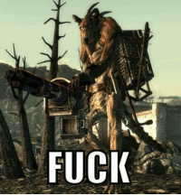 This is why you don't tell a Deathclaw to step the fuck up.  ~Marshall Law: FUCK This is why you don't tell a Deathclaw to step the fuck up.  ~Marshall Law