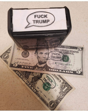 President Lincoln has a message for everyone this year: FUCK  TRUMP  VE  THI UNTED STATES  aric nep asP  TAMERIOCA  FUCK  TRUMP  F6  ES  UND  MF 52214459 E  THIS NOTE Is LERAL TENDDER  rOwALL DERTS, FUBLIC ANO PRIVATE  SevfP T  SEES 200  f Cd S  DOLARS  Fi T  ం  F  INCOLN  ERICA  KFOCK3F  SNGTON D.O  TRUMR  ondyehde nn  ONEDOLLAR President Lincoln has a message for everyone this year