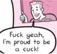 fuck yeah: Fuck yeah,  I'm proud to be  a cock