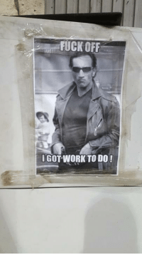 Memes, Tpb, and Work: FUCKOFF  GOT WORK TODO! Thanks Justin Jack! Sometimes, we all need one of these in our office! TPB App https://www.eastsidegames.com/tpbgame_hr/ #greasymoney #itsallinthegame #byfansforfans