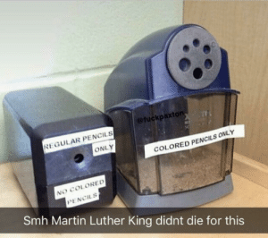 Dank, Martin, and Memes: @fuckpaxton  REGULAR PENCILS  ONLY  COLORED PENCILS ONLY  RED  NO COLORED  PENCILS  Smh Martin Luther King didnt die for this No colored pencils by s4nskrit MORE MEMES