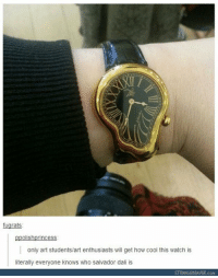 https://t.co/DkMuEp4gDV: fugrats  ppolishprincess  only art students/art enthusiasts will get how cool this watch is  literally everyone knows who salvador dali is  STRANGEBEAVER.con https://t.co/DkMuEp4gDV