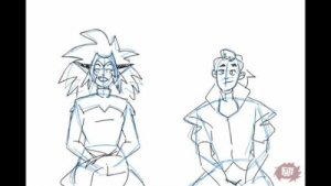fujifingerz:  ((Catra and Adora many years after she broke time and space so they can joke about it now…))Reference  😂😂😂😂😂: fujifingerz:  ((Catra and Adora many years after she broke time and space so they can joke about it now…))Reference  😂😂😂😂😂