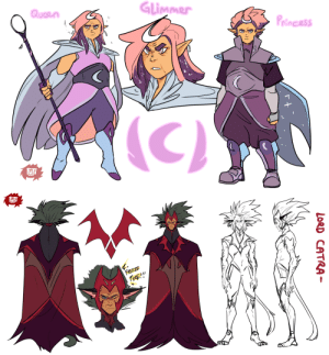 fujifingerz:  (She-Ra AU)Concept/Model sheets for AU Catra and Glimmerfor Catra I think I took too much Inspiration from Master Cyclonis…..: fujifingerz:  (She-Ra AU)Concept/Model sheets for AU Catra and Glimmerfor Catra I think I took too much Inspiration from Master Cyclonis…..