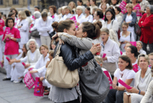 full-moon-phoenix: dj-hyperdeath:   simonalkenmayer:  crikey-way:  falvie:  xxinsomniacxx:  forbidden-dreams:  heartnudges:  woah-ohh:  megodofmischief:  The Kiss, today (23/10/2012) in Marseille, France.  Two young women kissed in front of anti same sex marriage/adoption protesters.   I will judge my followers if they don't reblog this  I love all the faces in the background  this is perfect  Look at every single face  I CAN'T STOP LAUGHING AT THE EXTREMELY UPSET OLD LADY IN THE BACKGROUND AHAHAHHA    The faces are ridic   It hasn't changed much in that town    The new Pikachu meme : full-moon-phoenix: dj-hyperdeath:   simonalkenmayer:  crikey-way:  falvie:  xxinsomniacxx:  forbidden-dreams:  heartnudges:  woah-ohh:  megodofmischief:  The Kiss, today (23/10/2012) in Marseille, France.  Two young women kissed in front of anti same sex marriage/adoption protesters.   I will judge my followers if they don't reblog this  I love all the faces in the background  this is perfect  Look at every single face  I CAN'T STOP LAUGHING AT THE EXTREMELY UPSET OLD LADY IN THE BACKGROUND AHAHAHHA    The faces are ridic   It hasn't changed much in that town    The new Pikachu meme