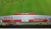 Memes, Work, and Time: FULL TIME  CHIELLINI 82  CHIELLINI 44  CHIELLINI 77' (og)  AZERBAIJAN  ITALY  2-1 When you're in a group project and have to do all the work...