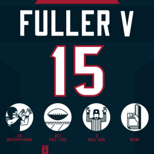 These numbers are CRAZY, @Will_Fuller7! 😱 #HaveADay  @HoustonTexans | #WeAreTexans https://t.co/UcSjVYPg44: FULLER V  15  GAD  217  REC YDS  14  RECEPTIONS  WIN!  REC TDS  WK  5 These numbers are CRAZY, @Will_Fuller7! 😱 #HaveADay  @HoustonTexans | #WeAreTexans https://t.co/UcSjVYPg44