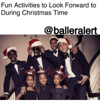 "Being Alone, Christmas, and Driving: Fun Activities to Look Forward to  During Christmas Time  @balleralert Fun Activities to Look Forward to During Christmas Time - Blogged by: @RaquelHarrisTV ⠀⠀⠀⠀⠀⠀⠀⠀⠀ ⠀⠀⠀⠀⠀⠀⠀⠀⠀ 1. Family Gatherings ⠀⠀⠀⠀⠀⠀⠀⠀⠀ ⠀⠀⠀⠀⠀⠀⠀⠀⠀ The best feeling in the world is being around your family during the holidays. There's guaranteed to be food on deck, good laughs and of course the ""grocery store run"" your cousins invite you on. It's a night filled with endless card game disputes, football trivia and a couple extra trays of food to go home with. What beats that? ⠀⠀⠀⠀⠀⠀⠀⠀⠀ ⠀⠀⠀⠀⠀⠀⠀⠀⠀ 2. Christmas Classics On TV ⠀⠀⠀⠀⠀⠀⠀⠀⠀ ⠀⠀⠀⠀⠀⠀⠀⠀⠀ 'Home Alone', 'A Christmas Story' and 'Friday After Next', equals one amazing night. It's time to kick back, use whatever extra time you have and immerse yourself into some good ole' nostalgic Christmas classics. Perfect for a family affair or a night with friends. ⠀⠀⠀⠀⠀⠀⠀⠀⠀ ⠀⠀⠀⠀⠀⠀⠀⠀⠀ 3. Holiday Family Photos ⠀⠀⠀⠀⠀⠀⠀⠀⠀ ⠀⠀⠀⠀⠀⠀⠀⠀⠀ It's that time of the year when families dress up and show the world what Christmas spirit, combined with color coordination, really looks like. Some people keep it traditional while others change up the theme each year. Whatever you do, have fun and make sure you buy wallet size photos to share! ⠀⠀⠀⠀⠀⠀⠀⠀⠀ ⠀⠀⠀⠀⠀⠀⠀⠀⠀ 4. Fall Fashion ⠀⠀⠀⠀⠀⠀⠀⠀⠀ ⠀⠀⠀⠀⠀⠀⠀⠀⠀ SLAY bells ring, are you listening? Pea coats, matching scarves and gloves, furs, leather and dare I say......Timbs. This season is pretty much a haven for fashion. It's time to live your best winter life. ⠀⠀⠀⠀⠀⠀⠀⠀⠀ ⠀⠀⠀⠀⠀⠀⠀⠀⠀ 5. Holiday Decorations and Lights ⠀⠀⠀⠀⠀⠀⠀⠀⠀ ⠀⠀⠀⠀⠀⠀⠀⠀⠀ Lights, blow-up Jack Frosts, neon ""Merry Christmas"" signs and maybe a nativity scene. Random nights with no plans is when driving through neighborhoods to see Christmas decorations fits in perfectly. Whether you're taking the kids or adding to a date night, it's always nice to experience what the holidays look like through another's eyes."