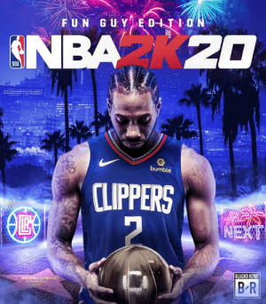 Deal back home is official. 2K needs this, baybee.: FUN GUY EDITION  NBA K20  bumble  CLIPPERS  NEXT  BLEACHER REPORT  B R Deal back home is official. 2K needs this, baybee.