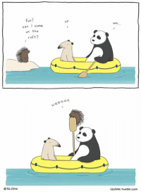 Memes, Tumblr, and Wee: fun  I come  con  on the  raft?  liz climo  ee  Wee e um  lizclimo, tumblr com weee. www.thelittleworldofliz.com