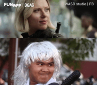 9gag, Dank, and Congratulations: FUNBFF 9GAG  WASD studio | FB Even Thanos would be proud of this. Congratulations to WASD studio on becoming our week 12 #9GAGFunOff winners.