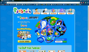 nostalgia-magazine:  funbrain.com! I remember I waited years for it to completed but it never was.: Funbrain Arcade | Cx  www.funbrain.com/brain/JustForFunBrain/JustForFunBrain.html  II Apps > YouTube f Facebook W Wikipedia  Reddit e Kickass Tor r NPR a Amazon  Gmail • imgur * Dropbox 6 Spotify  IMDB Hotmail  Office 365 Blackboard  math arcade  reading  fun arcade  playground  all games  Boubeco ARCADE!  THE  Finish  All your favorites  are in the  Reading Center  NEW  PLAYER?  RETURNING USERS  ENTER PASSWORD:  CLICK HERE!  HUNGRY4  SUBMIT  Fun Stuff from Funbrain!  start nostalgia-magazine:  funbrain.com! I remember I waited years for it to completed but it never was.