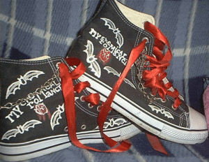 funcities:   My Chemical Romance shoes 2   by Gothic-Wolf   : funcities:   My Chemical Romance shoes 2   by Gothic-Wolf