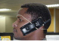 what an amazing bluetooth headset....vintage: Fung unkSite com what an amazing bluetooth headset....vintage