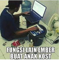 Indonesian (Language) and Ember: FUNGSILAIN EMBER
