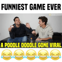 TAG 2 FRIENDS 😂😂 w- @coreyscherer • follow me @GabeErwin for more • link in bio to full video!: FUNNIEST GAME EVER  GABEERWIN  A POODLE DOODLE GONE VIRAL TAG 2 FRIENDS 😂😂 w- @coreyscherer • follow me @GabeErwin for more • link in bio to full video!