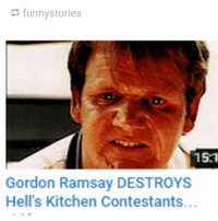 I CANT VREATHE: funny stories  15.1  Gordon Ramsay DESTROYS  Hell's Kitchen Contestants. I CANT VREATHE