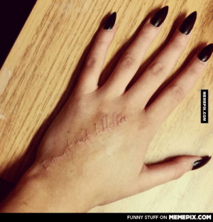 For the Harry Potter Fans… A white ink tattoo. love it?omg-humor.tumblr.com: FUNNY STUFF ON MEMEPIX.COM  MEMEPIX.COM For the Harry Potter Fans… A white ink tattoo. love it?omg-humor.tumblr.com
