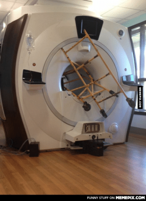The hospital I work at had an accident with the MRI machine recentlyomg-humor.tumblr.com: FUNNY STUFF ON MEMEPIX.COM  MEMEPIX.COM The hospital I work at had an accident with the MRI machine recentlyomg-humor.tumblr.com