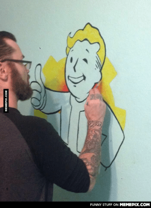 This guy took a break from Fallout 4 and this happenedomg-humor.tumblr.com: FUNNY STUFF ON MEMEPIX.COM  MEMEPIX.COM This guy took a break from Fallout 4 and this happenedomg-humor.tumblr.com