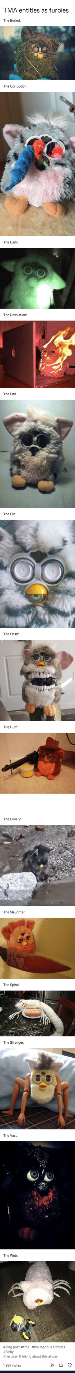 Furbies in their natural state: Furbies in their natural state