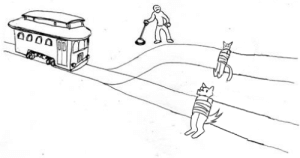 furrypost-generator: lotus-of-light:  furrypost-generator:   arbor-viridanus:  furrypost-generator:   furrypost-generator: the trolley problem but instead it's a catboy or a werewolf     Werewolves can only be killed by silver. Let the trolley run over the werewolf, it will survive.  one must die    I eat the werewolf's ass. This solves none of the problems but I die doing what i loved.   : furrypost-generator: lotus-of-light:  furrypost-generator:   arbor-viridanus:  furrypost-generator:   furrypost-generator: the trolley problem but instead it's a catboy or a werewolf     Werewolves can only be killed by silver. Let the trolley run over the werewolf, it will survive.  one must die    I eat the werewolf's ass. This solves none of the problems but I die doing what i loved.