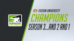Gg, Tumblr, and Academy: FUSION UNIVERSITY  CHAMPIONS  SEASON ..AND 2 AND  DVERWATCH  CONTENDERS owldesk:  24-0 ! contrats fusion uni and gg atl academy !