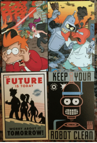 """Future, Tumblr, and Blog: FUTURE KEEP YOUR  THE  IS TODAY  TOMORROW ROBOT CLER  WORRY ABOUT IT <p><a href=""""https://awesomage.tumblr.com/post/174271670740/futurama-season-1"""" class=""""tumblr_blog"""">awesomage</a>:</p><blockquote><p><b><a href=""""https://awesomage.com/futurama-season-1/"""">Futurama Season 1</a></b></p></blockquote>"""