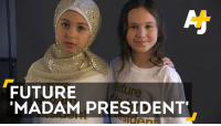 """Memes, 🤖, and Who Run the World: FUTURE  MADAM PRESIDENT Who run the world? Girls.   These girls believe they have what it takes to be the first """"madam president"""" in U.S. history."""