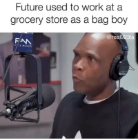 Friends, Future, and Memes: Future used to work at a  grocery store as a bag boy  @real923la  FNA  FSE MUSIC future came up from the bottom 💯💯💯 Stay down and keep grinding rapsavages ‼️ ( via @bigboysneighborhood ) Follow @bars for more ➡️ DM 5 FRIENDS