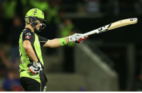 Memes, Hurricane, and 16.5: 'G BBL, Hobart Hurricanes vs Sydney Thunder: Sydney Thunder won by 6 wickets  HH - 161/8 (20) | ST - 162-4 (16.5) | Shane Watson - 55(31) | Pat Cummins - 2/36