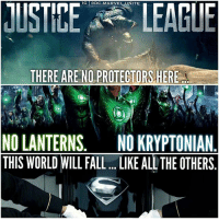"SteppenWolf Speaking. 😨 HE STRAIGHT UP JUST NAME DROPPED ""THE LANTERNS"" ! 😱 I have a good feeling we'll be seeing a GreenLantern near the end of JusticeLeague ! 😍🙌🏽 SDCC DCExtendedUniverse 💥 DCEU JL DC SanDiegoComicCon SDCC17 ComicCon: G DC.MARVE  ITE  THERE ARE NO PROTECTORS.HERE  NO LANTERNS. NO KRYPTONIAN  THIS WORLD WILL FALL. .IKE ALL THE OTHERS SteppenWolf Speaking. 😨 HE STRAIGHT UP JUST NAME DROPPED ""THE LANTERNS"" ! 😱 I have a good feeling we'll be seeing a GreenLantern near the end of JusticeLeague ! 😍🙌🏽 SDCC DCExtendedUniverse 💥 DCEU JL DC SanDiegoComicCon SDCC17 ComicCon"