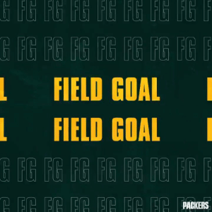RT @packers: Crosby GOOD from 33 yards.  10-6 Vikings with 7:00 to go in the half.  #GBvsMIN | #GoPackGo https://t.co/12P56UXEXA: G FG FG FG FG FG FG FG F  G FG FG FG FG FG FG FGF  FIELD GOAL  EIELD GOAL  G FG FG FG FR FG FG FG P  PACKERS RT @packers: Crosby GOOD from 33 yards.  10-6 Vikings with 7:00 to go in the half.  #GBvsMIN | #GoPackGo https://t.co/12P56UXEXA
