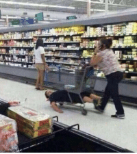 When your mom forces you to go grocery shopping: G When your mom forces you to go grocery shopping