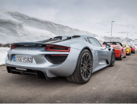 Memes, Norway, and Spain: G09182 So this is happening! We're on a 5000km road trip from Norway to Spain, in a bunch of Porsches including a 918 Spyder... lmu LeMansUnravelled