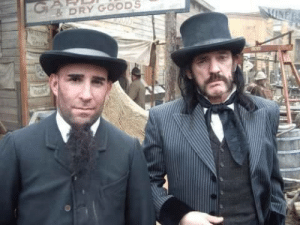 the-darker-it-gets:  STOP WHAT YOU'RE DOING. STOP SCROLLING. PAUSE. Look at this photo of Scott Ian and Lemmy in tuxes. Appreciate it. Love it. Admire it. Now, do what you will. Carry on with your life.: GA  & DRY GOODS  MINER  TO the-darker-it-gets:  STOP WHAT YOU'RE DOING. STOP SCROLLING. PAUSE. Look at this photo of Scott Ian and Lemmy in tuxes. Appreciate it. Love it. Admire it. Now, do what you will. Carry on with your life.