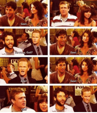 Memes, Sorry, and 🤖: Gael.  sorry, Gail?  Gael  PC  Kyle?  Gael  PO! One of the funniest scenes on the show. #HIMYM https://t.co/6BiXLEJHD0