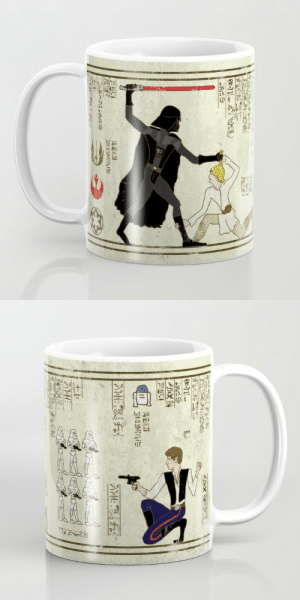 Star Wars, Tumblr, and Blog: gagbay:  Amazing Star Wars Mug Available in 11 and 15 ounce sizes, our premium ceramic coffee mugs feature wrap-around art and large handles for easy gripping. Dishwasher and microwave safe, these cool coffee mugs will be your new favorite way to consume hot or cold beverages.