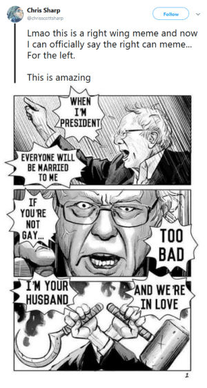 gahdamnpunk:  I was going to say conservatives might fuck around and get Bernie elected for us but thankfully the artist is not right wing: Love this anyway. This is the future we want : gahdamnpunk:  I was going to say conservatives might fuck around and get Bernie elected for us but thankfully the artist is not right wing: Love this anyway. This is the future we want